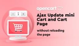 Ajax Update Cart  Plus/Minus Quantity Buttons oc..