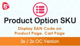 Product Option SKU
