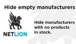 Hide empty manufacturers