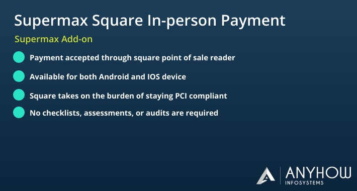 POS Square In-person payment