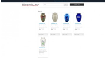 Wholesale Urns