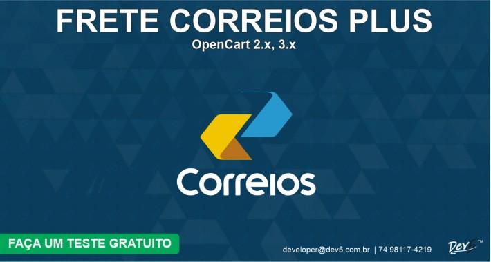 Frete Correios Plus - Dev5™