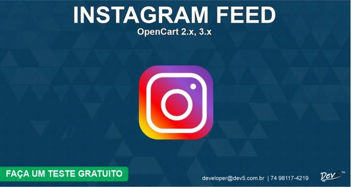 Instagram Feed - Dev5™