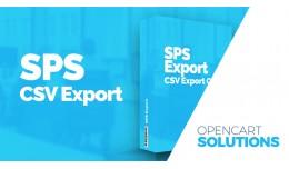 SPS CSV Export - Export objednávok / Export ord..