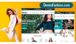 Fashion demo 1 responsive opencart 3.x