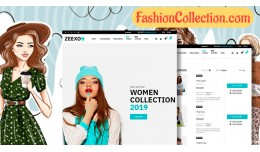 Fashion demo 6 responsive opencart 3.x