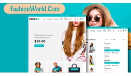 Fashion demo 10 responsive opencart 3.x