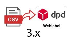 DPD Weblabel Csomagfeladás illesztő HU 3.X ver..