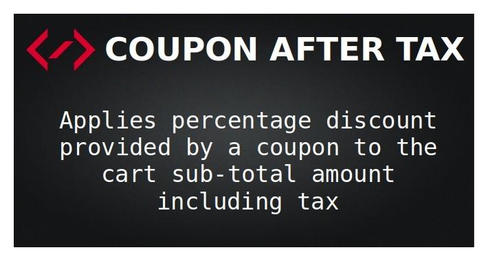 Coupon After Tax