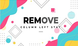 Remove Col-Left Stat