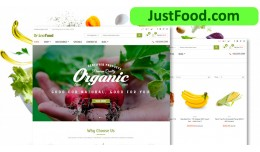 Organic Vegetable Shop-4 grocer responsive openc..