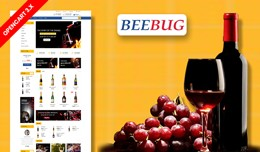 Beebug Drink & wine Ecommrce Opencart Websit..