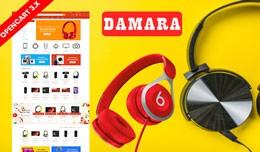 Damara Electronics Ecommrce Opencart Responsive ..