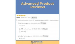 Advanced Product Reviews