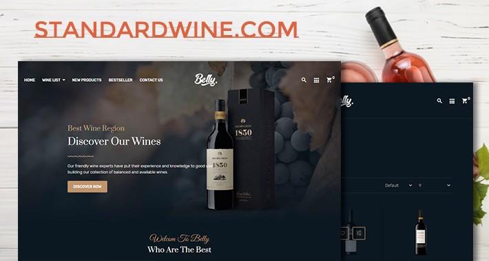 wine belly responsive opencart 3.x