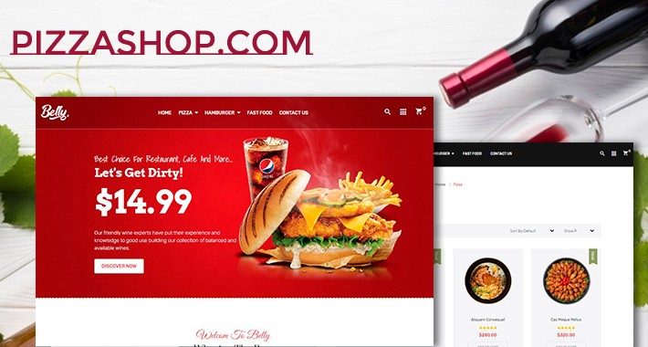 Food belly responsive opencart 3.x