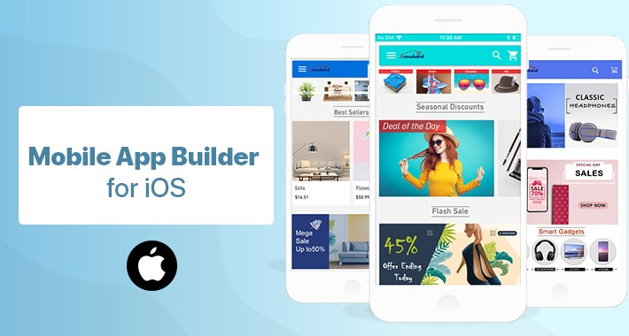 OpenCart Mobile App Builder for iOS