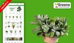 Greeno Plant & Home Plant Ecommrce Website T..