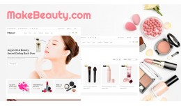 Beauty shop-1 responsive opencart 3.x