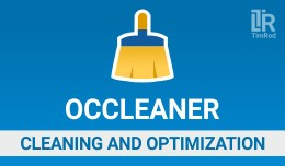 OCCleaner - cleaning / optimization / security