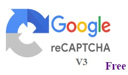 Recaptcha V3 / Captcha V3 For Account Registerat..