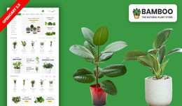 Bamboo Plant & Garden Plant Ecommrce Website..
