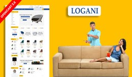 Logani Home & office Furniture Ecommrce Webs..