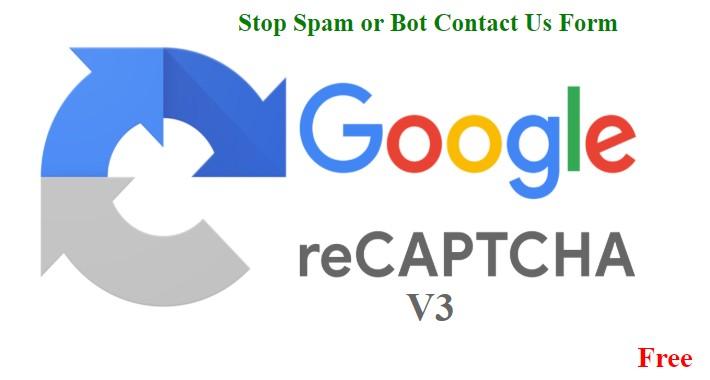Recaptcha V3 / Captcha V3 For Contact Us Form VQMOD
