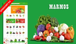 Marmos Organic & Grocery Ecommrce Website Te..