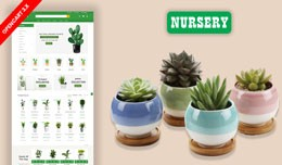 Nursery Plant & Home Plant Ecommrce Website ..