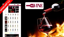 Mr.Wine & Drink Ecommrce Opencart Website Te..
