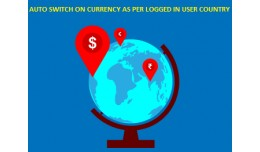 Auto Switch on Currency as per Logged in User Co..