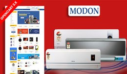Modon Electronics Ecommrce Opencart Website Temp..
