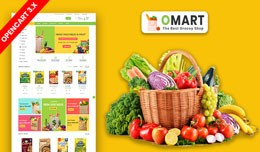 Omart Grocery And Daily Need Ecommrce Website Te..