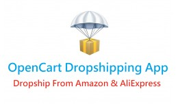 OpenCart Dropshipping App (From Amazon & Ali..