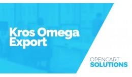 Export do účtovníckeho software Kros Omega 1...