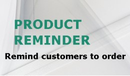 Product Reminder
