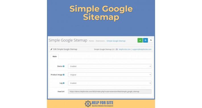 Simple Google Sitemap