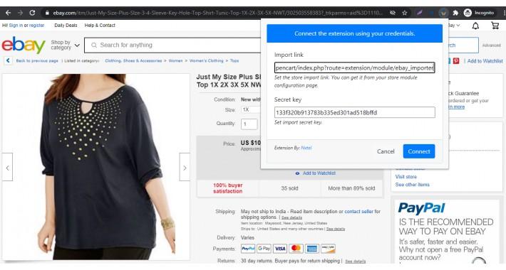 Advanced Ebay Product Importer