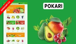 Pokari Organic & Grocery Ecommrce Website Te..