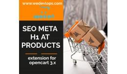 SEO meta H1 products