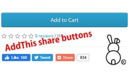 AddThis buttons