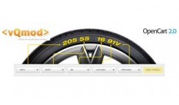 tyre search vqmod opencart