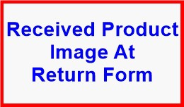 Received Product Image At Return Form