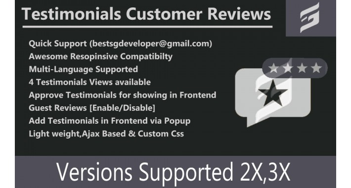 SG Testimonials [Customer Reviews]