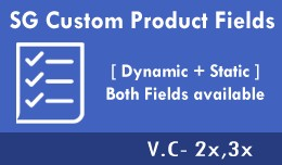 Product Custom Fields [ Dynamic + Static ]