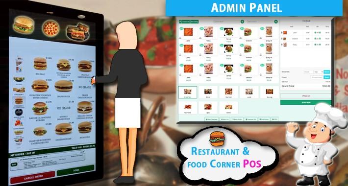 Restaurant & food Corner POS