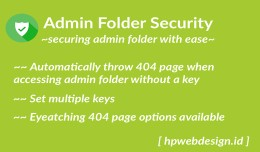 Admin Folder Security