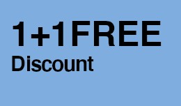 Special Discount: One + One Free
