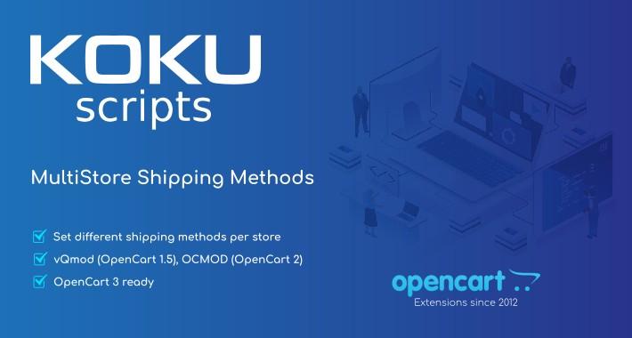 MultiStore Shipping Methods